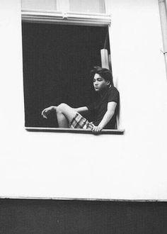 ~{EXO's Kai}~ kai in a window