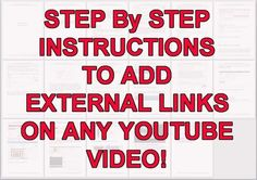 show you How To Embed A ReAL CliCKABLE Link On AnY YOUTUBE Vid... by anayoe