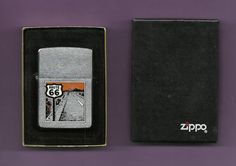 ZIPPO ROUTE 66 AMERICA TOURIST VACATION CIGARETTE LIGHTER  Price: US $24.95 Buy It Now