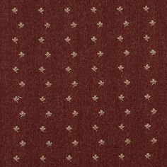 The K4747 SPICE POSEY upholstery fabric by KOVI Fabrics features Country or Lodge or Cabin, Floral, Small Scale pattern and Burgundy or Red or Rust, White or Off-White as its colors. It is a Tweed type of upholstery fabric and it is made of 85% Olefin, 15% polyester material. It is rated Exceeds 75,000 Double Rubs (Heavy Duty) which makes this upholstery fabric ideal for residential, commercial and hospitality upholstery projects and automotive upholstery projects.For help Call 800-8603105