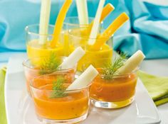 salsa peperone e pomodoro per pinzimonio