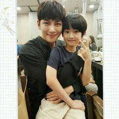 So adorable (Suspicious Partner) Actors Male, Child Actors, Asian Actors, Korean Actors, Actors & Actresses, Korean Dramas, Yoona Ji Chang Wook, Ji Chang Wook Abs, Ji Chan Wook