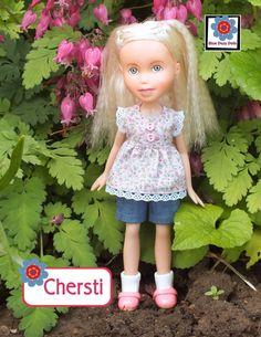 Chersti repainted Bratz doll makeunder handmade by bluedazydolls