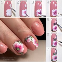 Here is a tutorial for an interesting Christmas nail art Silver glitter on a white background – a very elegant idea to welcome Christmas with style Decoration in a light garland for your Christmas nails Materials and tools needed: base… Continue Reading → Gel Nail Art, Nail Art Diy, Easy Nail Art, Diy Nails, Acrylic Nails, Fancy Nails, Trendy Nails, Cute Nails, Flower Nail Designs