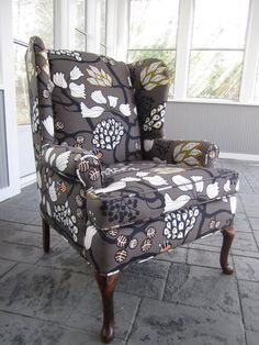 Accent Chair  Mystic Forest by Urbanmotifs on Etsy, $475.00