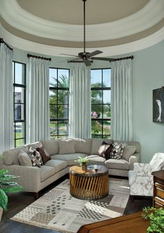The wall paint color is Sherwin Williams 6206, Oyster Bay, and the ceiling paint color is Sherwin Williams 7633, Taupe Tone