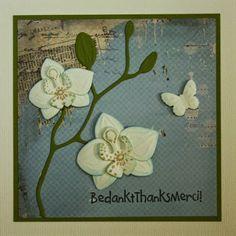 Marjoleine's blog: Nog meer orchideeën-kaarten voor de aanschuifworkshop