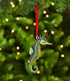 dillards trimmings cloisonne 45 seahorse ornament dillards