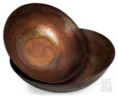 Toluca Copper-Plated Bowl Set Home Accessories at Art.com