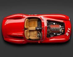 どんなエンジンで、どのくらいパワフルか? (© Bonhams)