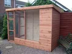 10' x 4' All Weather Cat Chipmunk Bird Aviary Plus Porch | Pet Supplies, Birds, Cages | eBay!