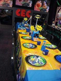 Batman party at Cec