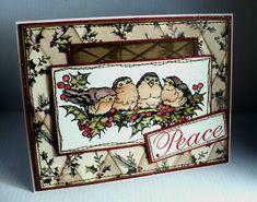 PSX Christmas Chickadee's card