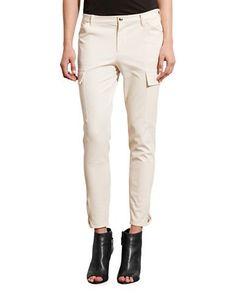 RALPH LAUREN Lauren Petite Twill Skinny Cargo Pant. #ralphlauren #cloth #    Ralph Lauren   Pinterest   Skinny cargo pants, Cargo pants and Skinny
