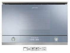 "Smeg  MP122 ""Linea Series"" Microwave Oven"