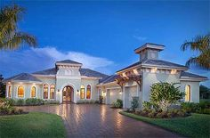 4 Bed Mediterranean Stunner With Outdoor Living - House Plan 66325WE
