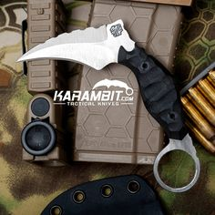 Introducing the BRAND NEW McDaniel Knives RUMBLER Karambit!! Available only at Karambit.com!
