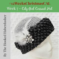 Week #7 of the 12 Weeks of Christmas Blog Hop Crochet Along sponsored by Red Heart, hosted by The Hooked Haberdasher, Charmed By Ewe and Pattern Paradise.