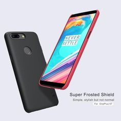 748b49e94571fe Nillkin Super Frosted Shield cover protective case For Oneplus 6 One plus  5T 5 3T 3