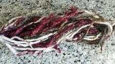 ArtYarn dreadlocks gefilztes Garn Halskette von ChameleonWool