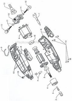 Dremel 3000 Parts List and Diagram : eReplacementParts.com