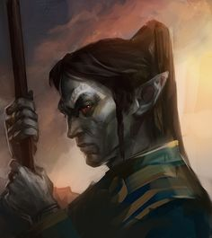 TES art,The Elder Scrolls,фэндомы,Нереварин,TES Персонажи,Morrowind