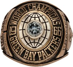 Jerry Kramer's Super Bowl I Championship Ring for the Green Bay Packers