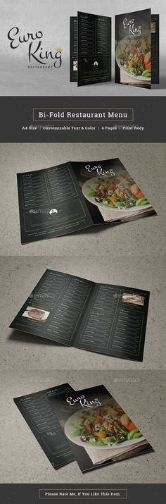 Restaurant Food Menu - PSD Template • Only available here ➝ http://graphicriver.net/item/restaurant-food-menu/16875510?ref=pxcr