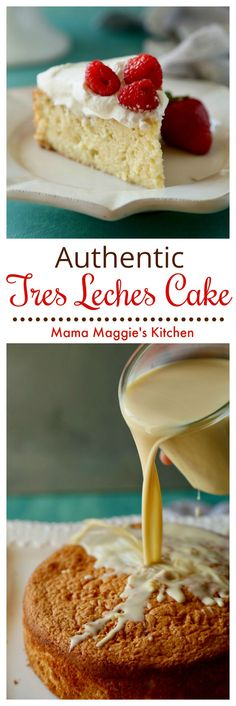 Tres Leches Cake (or Pastel de Tres Leches) is a traditional cake from Mexico. Tres Leches Cake (or Pastel de Tres Leches) is a traditional cake from Mexico. Moist and so yummy. You'll just love this authentic Mexican dessert. Authentic Mexican Recipes, Köstliche Desserts, Delicious Desserts, Camping Desserts, Food Cakes, Cupcake Cakes, Gâteau Tres Leches, Baking Recipes, Cake Recipes