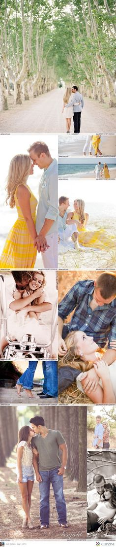 Some great ideas for posing couples