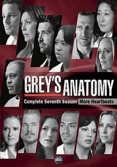 @Overstock - The 7th season of ABC`s hit series GREY`S ANATOMY finds the medical team at Seattle Grace Hospital attempting to recover from a tragedy that left them all reeling. Though their career successes are often tempered by personal failures, and vice versa, t...http://www.overstock.com/Books-Movies-Music-Games/Greys-Anatomy-Complete-Seventh-Season-DVD/5797200/product.html?CID=214117 $31.97
