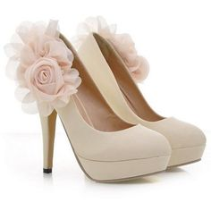 Autumn Spring Summer Casual Party Pu Platform Heel Platform Heels from fashionmia.com