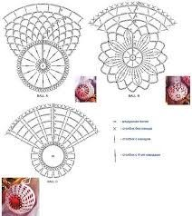 Znalezione obrazy dla zapytania вязаные колокольчики схемы