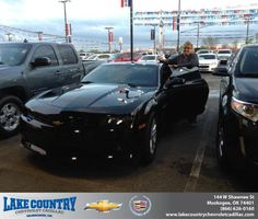 Congratulations to Sommer Dutton on your #Chevrolet #Camaro purchase from Kimberly  Folkner at Lake Country Chevrolet Cadillac! #NewCar