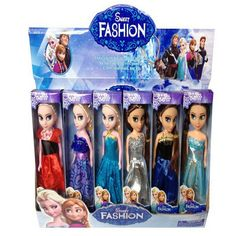 snow queen Fever 2 Kids Toys 17cm Anna Elsa  Dolls Mini Elsa And Anna Princess  baby Dolls toys Clothes For Dolls Children Gifts #clothing,#shoes,#jewelry,#women,#men,#hats,#watches,#belts,#fashion,#style