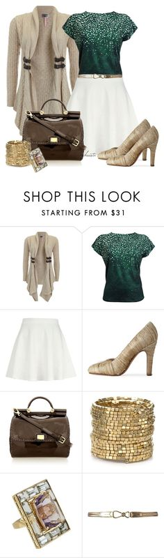 """""""Style the Cardigan"""" by christa72 ❤ liked on Polyvore featuring Lipsy, River Island, Maison Margiela, Dolce&Gabbana, ABS by Allen Schwartz and Lauren Ralph Lauren"""