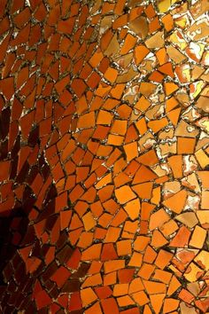 Casa Batllo, Barcelona by Gaudi  Interior mosaics