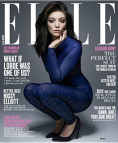 #Lorde #Singers #Musicians #ELLE #Celebrities #Magazine #Covers