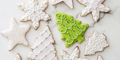 How are we updating the classic cutout cookie? With subtle almond and vanilla flavors (or pumpkin spice!) and a crazy simple decorative glaze. Get the recipe for Glazed Vanilla-Almond Cutout Cookies Holiday Treats, Christmas Treats, Christmas Baking, Holiday Baking, Christmas Desserts, Christmas Recipes, Christmas Goodies, Fall Baking, Holiday Foods