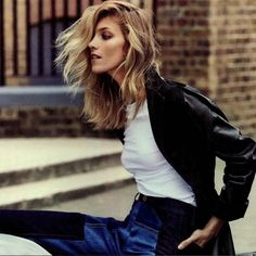 IRO PARIS x Anja Rubik Leather Trench // Porter Magazine // Soon Online