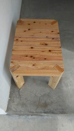 Pallet Coffee #Table - Outdoor Pallet Seating - Pallet Benches | 99 Pallets