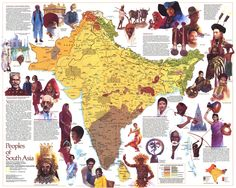 Post with 0 votes and 1779 views. Peoples of South Asia - National Geographic Society National Geographic Maps, National Geographic Society, South Asia Map, National Parks Map, Backpacking Asia, History Of India, World Geography, Africa Map, Historical Maps