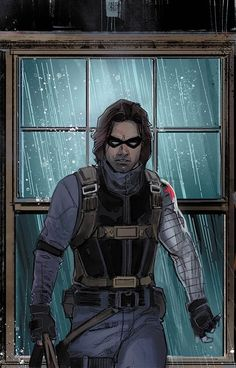 Nov is the FOC date on WINTER SOLDIER ushering in a new era for Bucky Barnes-- helping people find second chances. Marvel Art, Marvel Heroes, Marvel Characters, Cartoon Characters, Marvel Comics, Bucky Barnes, Marvel Drawings, Cartoon Drawings, Character Drawing
