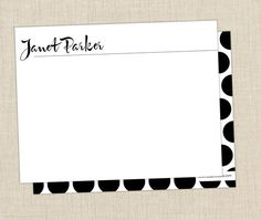 Signature Stationery perfect for a holiday gift