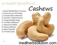 Diet Food Cashew Nuts have many amazing health benefits for human body.Consuming cashews can Improve Bone Health,Prevent Cancer,Prevent Gallstone,high Lemon Benefits, Coconut Health Benefits, Fruit Benefits, Benefits Of Cashews, Health And Nutrition, Health And Wellness, Health Fitness, Nutrition Guide, Workout Fitness