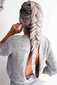 Christmas Party Braid Hairstyles ★