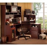 Found it at Wayfair - Cabot L-Desk with Hutch and Bookcase