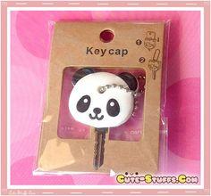 KAWAII UNIQUE PANDA KEY HOLDER WITH BALL CHAIN! VERY RARE!  - Cute-Stuffs.com