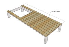 23 Clever DIY Christmas Decoration Ideas By Crafty Panda Outdoor Furniture Plans, Diy Garden Furniture, Pool Furniture, Diy Pallet Furniture, Furniture Decor, Wood Bench Plans, Diy Daybed, Patio Lounge Chairs, Wooden Pallet Projects