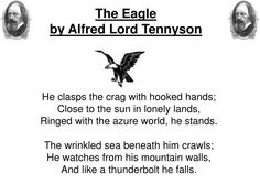 PPT - The Eagle by Alfred Lord Tennyson PowerPoint Presentation